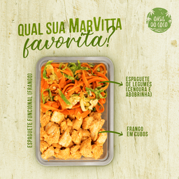 Espaguete Funcional - Frango Low Carb
