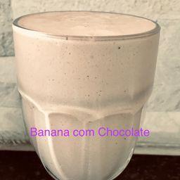 Vitamina Banana com Chocolate - 400ml