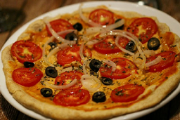 Pizza De Azeitona