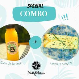 Omelete + Suco de Laranja