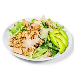 Salada Caesar e Suco - 300ml