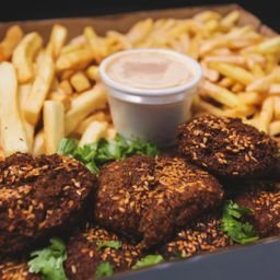 Vegetarian Falafel- Serve 2 Pessoas