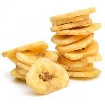 Banana chips desidratada