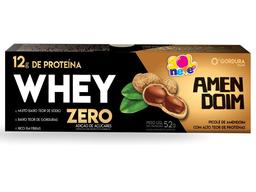 Picolé Whey Amendoim Zero