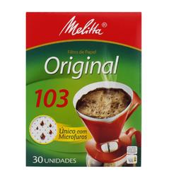Filtro de Café 103 (30 unidades) - Melitta