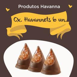 Havannet Chocolate - 6 Unidades