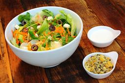01 - Salada de Folhas Verdes