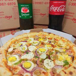 Refri Grátis na Compra de Uma Pizza G