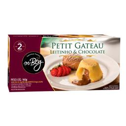 Petit Gateu Ninho e Choc 160g 2unid