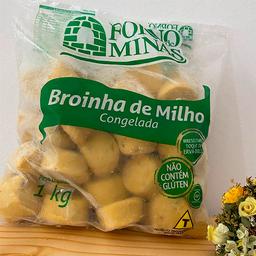 Pacote Broinha de milho 1kg - Congelado