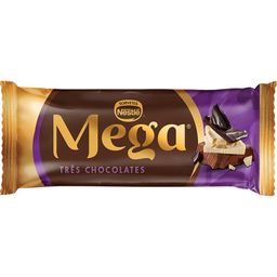 Picolé Mega 3 Chocolates