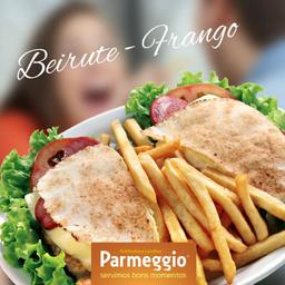 Beirute de hambúrguer+fritas+refri