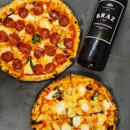 Combo Pizza + Vinho