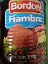 Carne de Lata Bordon 300g