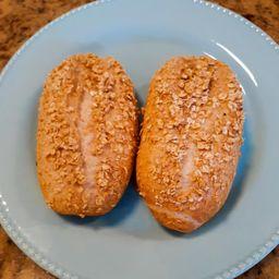 Pão Francese Integrale de Aveia