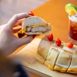 Zico - frango empanado