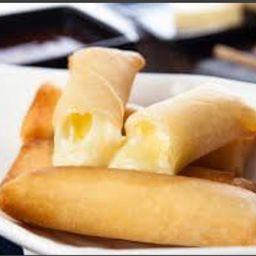 Harumaki de queijo - 6 unidades em dobro