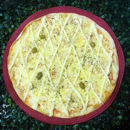 Pizza de frango catupiry grande com 40%