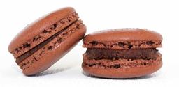 Macaron de Chocolate Belga