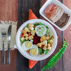 Salada especial - escolha carne