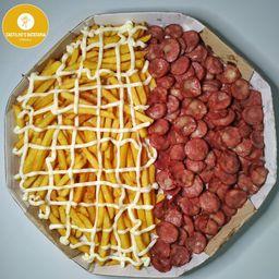 Fritas Calabresa/catupiry Cx de Pizza