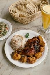 6ª Feira (arroz sírio e frango arabesco)