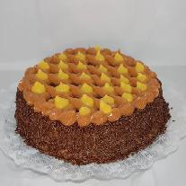 Torta de Brigadeiro com Baba-de-moça 25c