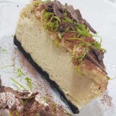 Cheesecake dark lemon - 150g