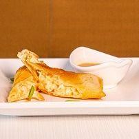 Harumaki de Camarão e Cream Cheese