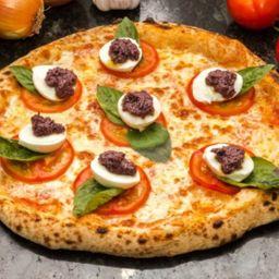 Pizza de Caprese