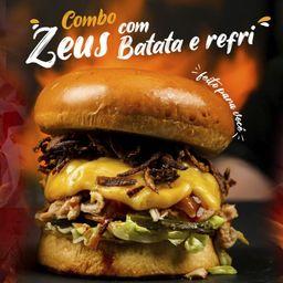 Zeus Combo Hambúrguer com Batata e Refrigerante