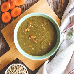 Sopa de Lentilha com Especiarias