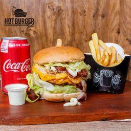 Combo Individual Burger Tudão