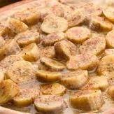 Pizza de Banana com Canela