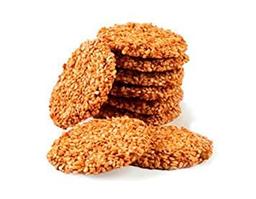 Biscoito de Gergelim com Pistache - Pacote 50G