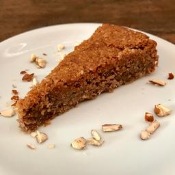 Pound cake de maçã (vegano s/ glúten)