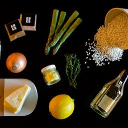 Kit Risoto de Aspargos com Limão Siciliano - 2 pessoas