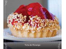 Tortinha de Creme e Morango - 150g