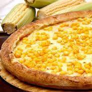 Pizza milho + refri 1l grátis