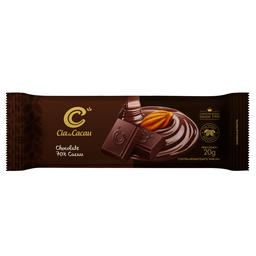 Cia Barra De Chocolate 70% - 20g