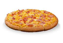 Pizza de Corn e Bacon - Individual