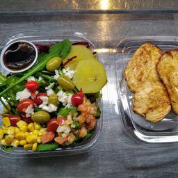 Saladão com filé de frango
