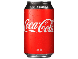 Coca zero lata