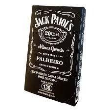 Jack paiol tradicional cigarro de palha