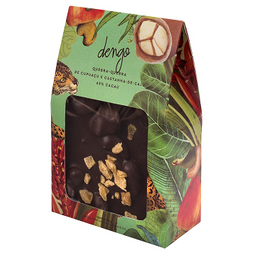 Chocolate quebra-quebra cupuaçu com castanha de caju - 200g