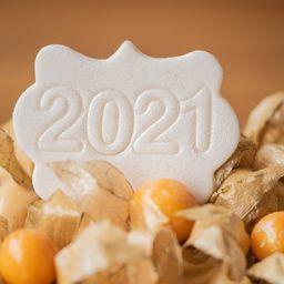 Plaquinha Comemorativa Ano Novo