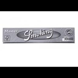 Seda Smoking Master Prata Grande 33 Folhas