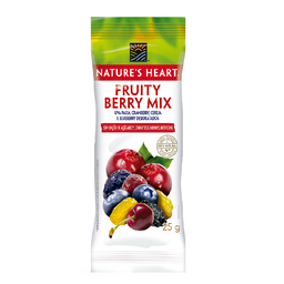 Snack Natures Heart Fruity Berry Mix - 25g