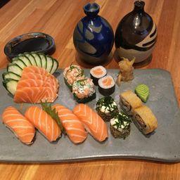Sushi e Sashimi Salmão - 1 Pessoa