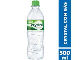 Água mineral gasosa